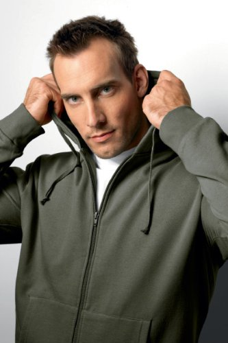 HANES 'BEEFY' HOODED SWEAT JACKET - 11 GREAT COLOURS