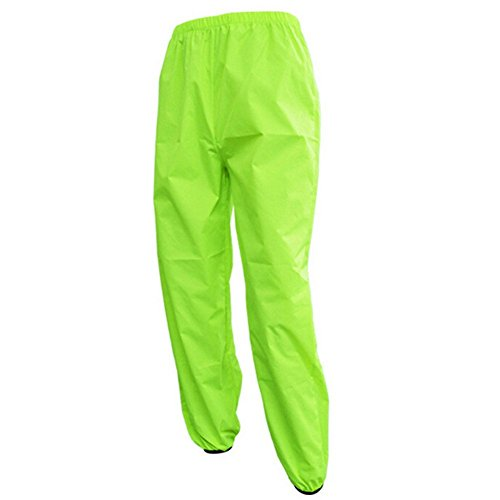 West Biking Cycling Reflective Rain Pants - Lightweight Breathable Sprinkle Waterproof Windproof Windbreaker Bike Bicycle Poncho Pants for Outdoor Sports (Cycling Rain Pants Men compare prices)
