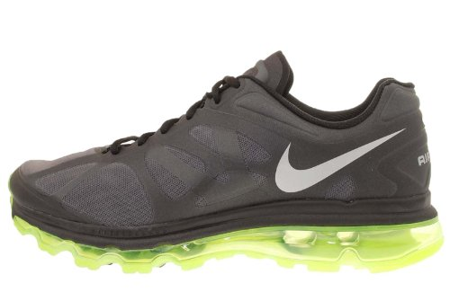 Nike Nike Air Max 2012 Black Volt Mens Running Shoes 360 487982-017 [US size 13]
