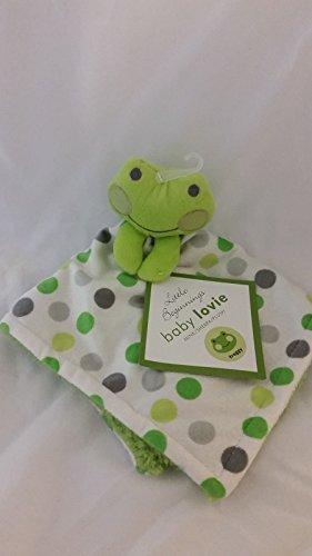 Little Beginnings Baby Lovie Green Froggy Security Blanket - 1