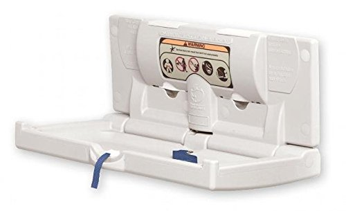 DryBaby ABC-300H Polyethylene, Horizontal, Durable Baby Changing Station - 1