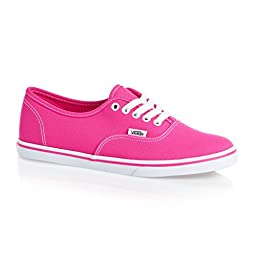 Vans Authentic Lo Pro Pink Kids Trainers 10.5 US