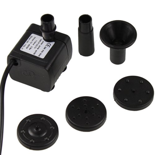Solar power fountain pool water pump for garden watering for What size pond pump do i need