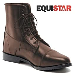 Equistar - Ladies\' Lace Paddock Boot (All Weather) 9.5 Black