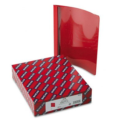 Clear front report covers with red back cover, 25 per box - Buy Clear front report covers with red back cover, 25 per box - Purchase Clear front report covers with red back cover, 25 per box (Smead, Office Products, Categories, Office & School Supplies, Binders & Binding Systems, Report Covers)
