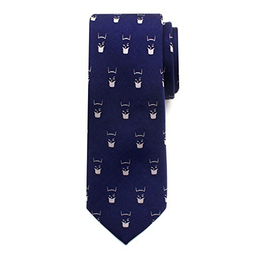 Ox & Bull 100% Silk Blue Batman Cowl Big Boys Necktie Tie Neckwear (Blue Batman Cowl compare prices)