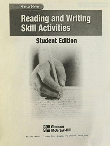 Reading and Writing Skill Activities (Glencoe Science)