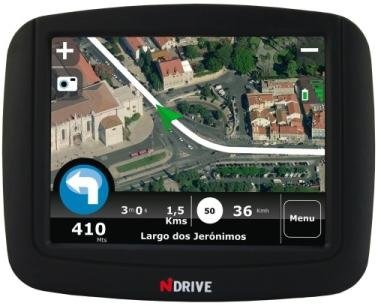 NDrive Touch Sat Nav