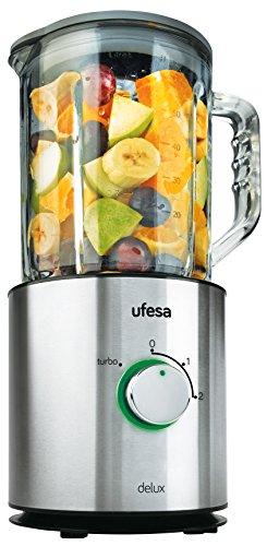 ufesa-bs4798-batidora-de-vaso-con-jarra-de-vidrio-800-w-capacidad-de-15-l-color-plata