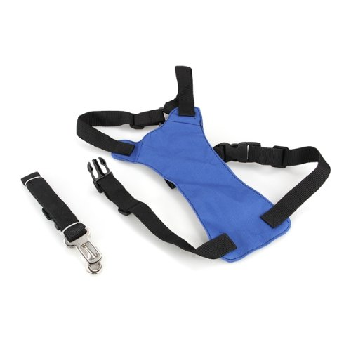 Blue S Car Vehicle Auto Seat Safety Belt Seatbelt for Dog Pet