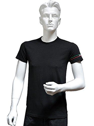 (エンポリオアルマーニ) EMPORIO ARMANI メンズ Tシャツ クルーネック ストレッチ コットン 半袖  [110853-3P510] [並行輸入品]