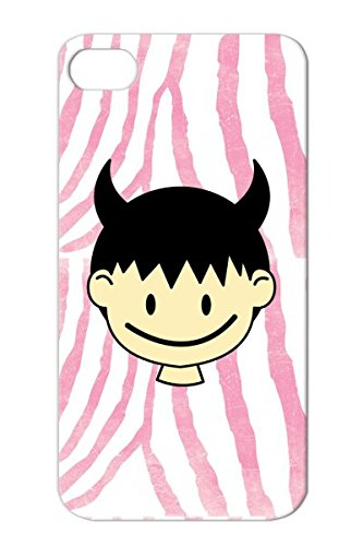 Tearproof Shirts Humor Child Baby Devilish Shirt Cool Smile Funny Kids Chibi Devil Evil Satan Pregnancy Maternity Japanese Smiles Anime T Babies Yellow Devil Boy With Horns For Iphone 4 Protective Hard Case front-845360