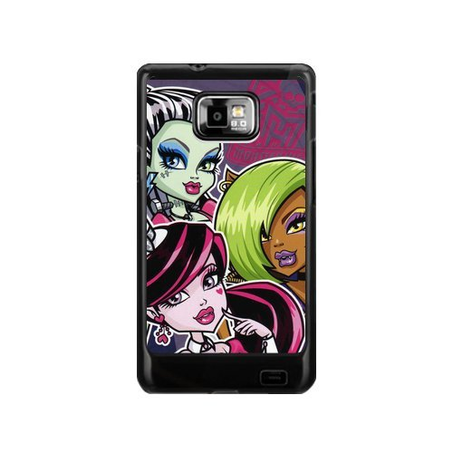 Monster High Samsung Galaxy S2 I9100 Case Hard Durable Plastic Back