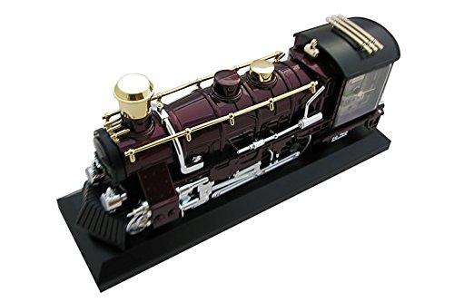 Vintage Style Locomotive Model Alarm Clock Home Decoration Gift Train