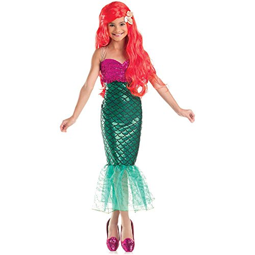 Sweet Little Mermaid Kids Costume