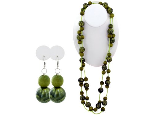 Wholesale Set Of 30, Beaded Necklace/Earrings (Jewelry, Necklaces), $3.96/Set Delivered
