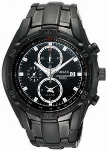 Pulsar Men's Black Dial Watch PF3701X1