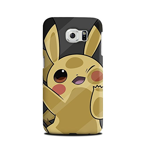 Adorable-Go-de-Pokemon-Pikachu-plstico-duro-Snap-Carcasa-para-Samsung-Galaxy-S6