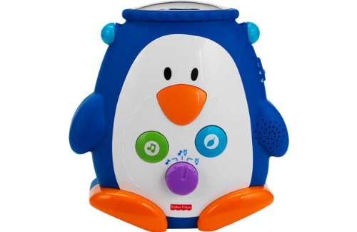 Fisher-Price Discover 'N' Grow Penguin Soother back-1027976