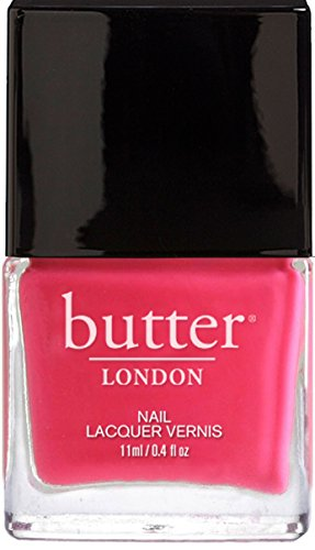 butter LONDON Nail Lacquer, White & Pink Shades, Cake-Hole (Slang Of The 1960s)