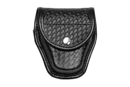Bianchi Accumold Elite Chrome Snap 7917 Double Cuff Case (Plain Black)