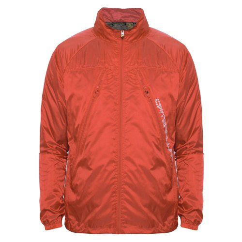 Caterpillar Mens Red Reflective Jacket Red XX-Large