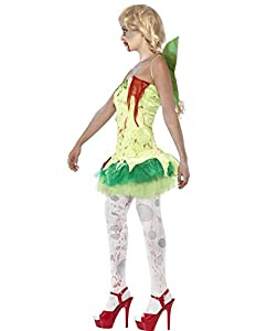 Smiffy's Adult Zombie Tinkerbell Fairy Costume