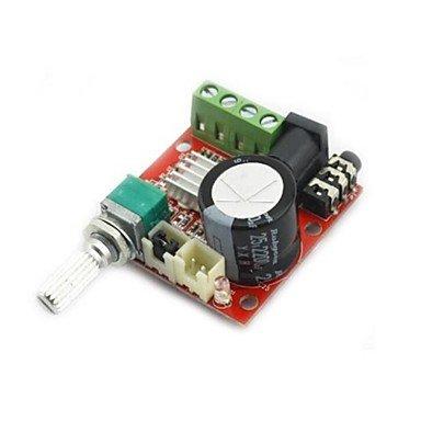 FAYM- mini amplificatore audio digitale 10w + 10w / 2 canali amp / diy classe modulo d hifi 2.0 (DC12V)