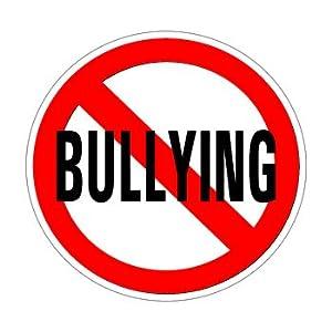 No Bullying - Window Bumper Sticker