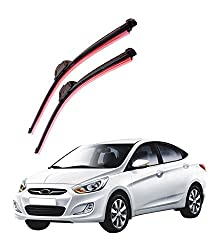 Autofurnish Frameless Silicon Wiper Blades for Hyundai Verna (D)22