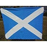 "Scotland Cross Polar Fleece Blanket 50""x60"" Scotland Flag Fleece Throw Blanket"