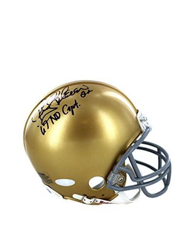 Steiner Sports Rocky Bleier Signed Notre Dame Minis With 1967 Captain Inscription