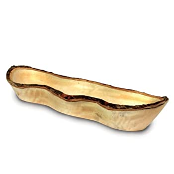 Long Mango Wood Bread Basket
