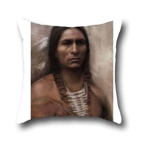 Connor CoCo Pillow Seat Belt Chemo Port Cover Surgery Breast Cancer Pillow Gift Indian Chief Throw Pillow Case Cushion Cover Multicolor 18*18 (Connor Belt compare prices)