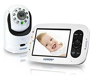 luvion grand elite 2 infant optics video baby monitor baby. Black Bedroom Furniture Sets. Home Design Ideas