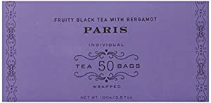 Harney and Sons Tea Bags, Paris, 50 Count. 3.57 Ounce