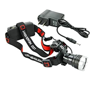 WindFire® Camping Hiking Bike Bicycle 1600 Lumens Cree XM-L T6 Super