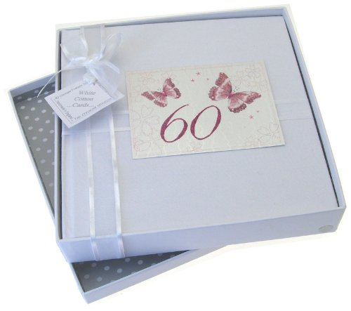 Álbum de Fotos con Mariposas 60 Cumpleaños