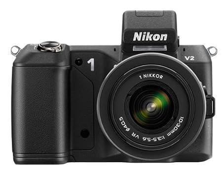 """Nikon 1 V2 Appareil photo numérique hybride 14,2 Mpix Écran LCD 3"""" 3X Noir"""