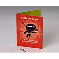 Birthday Ninja Card