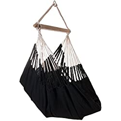 Hanging Hammock Chair - HAMACA Knit Black