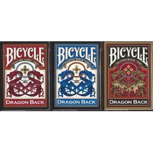 3 New Decks Bicycle Dragon Series
