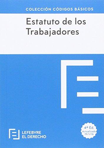 Estatuto de los Trabajadores (Códigos Básicos)