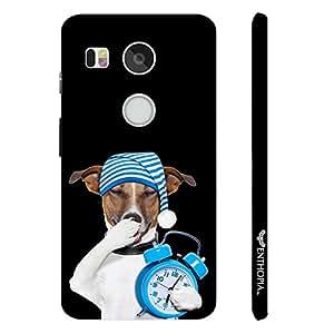 Google Nexus 5X SLEEPING TIME designer mobile hard shell case by Enthopia