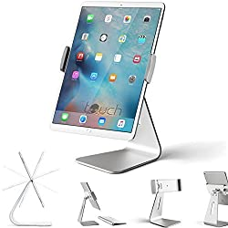 iPad Pro Tablet Holder Stand, Stouch 360 Rotatable Aluminum Alloy Desktop Holder Tablet Stand for Samsung Galaxy Tab Pro S iPad Pro 9.7