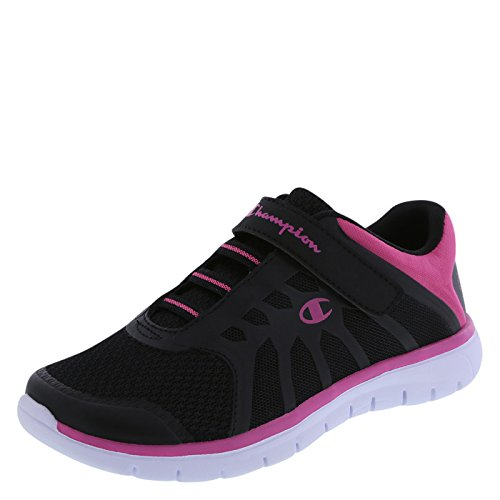 Champion Girl's Black Gusto Chopout Runner 1.5 M US (Champion Kids Shoes compare prices)