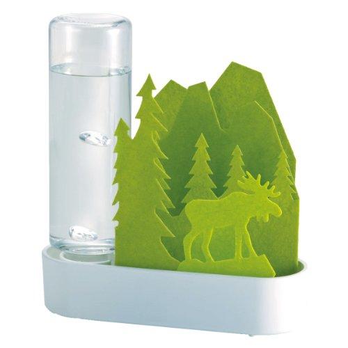 積水樹脂 自然気化式ECO加湿器 うるおいちいさな森 エルク‐グリーン UL...