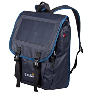BirkSun Atlas Solar Backpack Blue