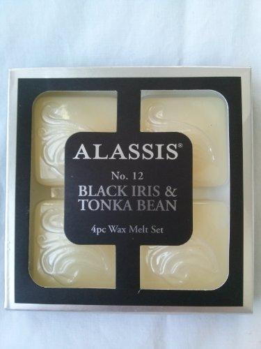 alassis-lot-de-4-set-de-cire-fondre-noir-iris-feve-tonka