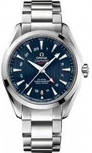 Omega Aqua Terra Blue Dial Stainless Steel Mens Watch 23110432203001